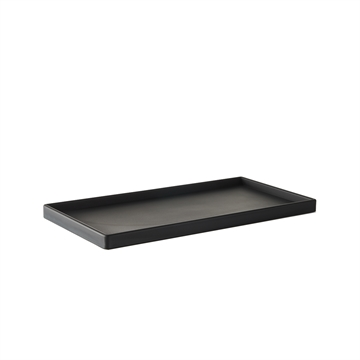BLACK RECTANGULAR TRAY MEDIUM