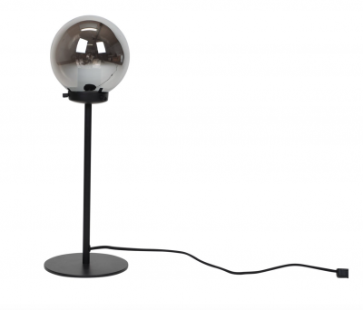 Ball Table Lamp - Small - Warm Grey & Clear